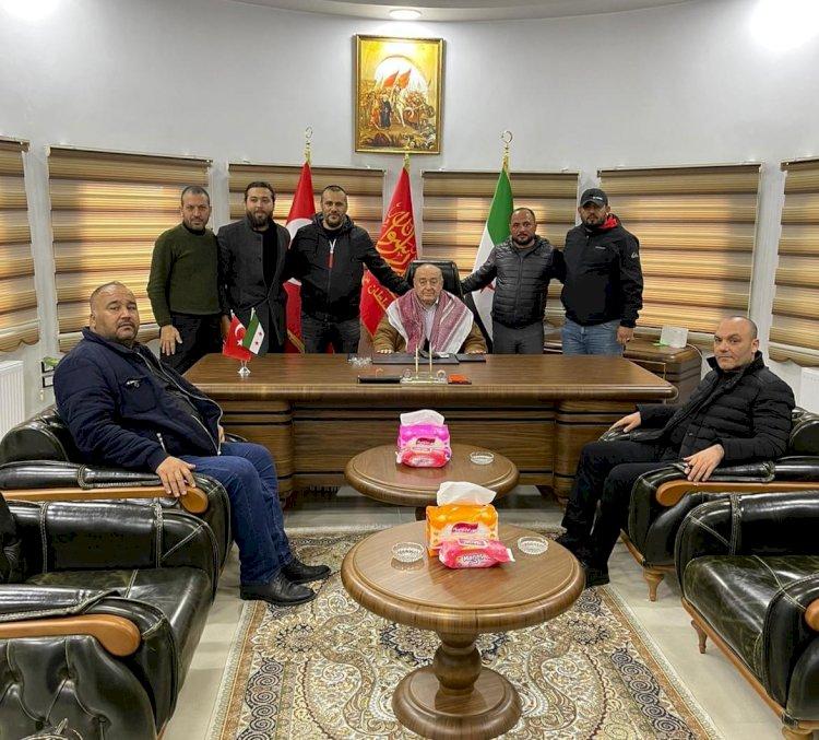 Akdoğan ve Kılıçparlar'dan Sultan Murat Türkmen Tümeni'ne Ziyaret