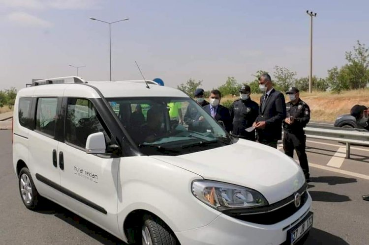 """""""Karayolu Trafik Haftası"""" etkinlikleri kapsamında sürücüler denetlendi"""