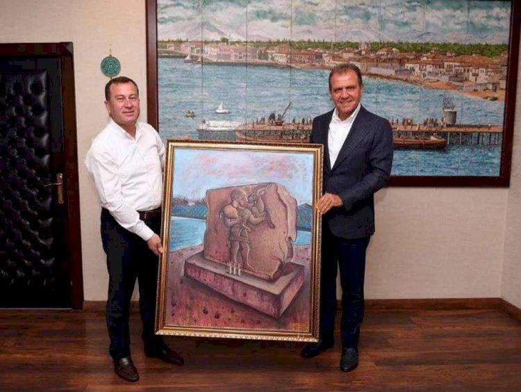 Başkan Doğan'dan Büyükşehir Belediye Başkanı Seçer'e Ziyaret